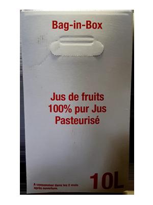 Jus de raisin en BIB 10 litres
